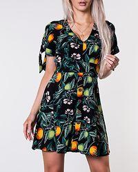Florine Dress Black/Patterned