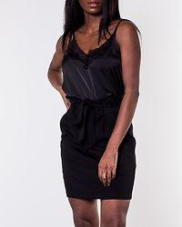 Eva Paperbag Short Skirt Black