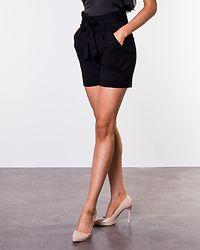 Eva Paperbag Short Shorts Black