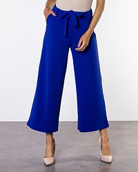 Loan Cropped Pant Clematis Blue
