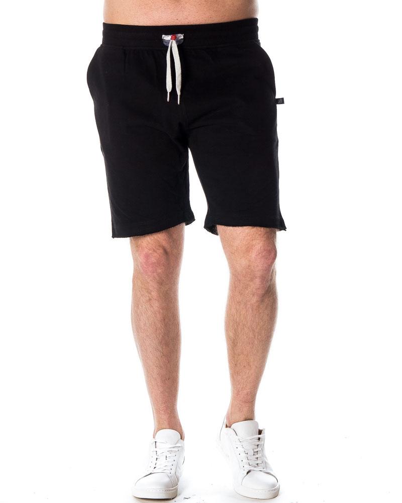 sweet pants terry short black miesten shortsit houseofbrandon com. Black Bedroom Furniture Sets. Home Design Ideas