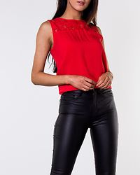 Famous Lace Top High Risk Red