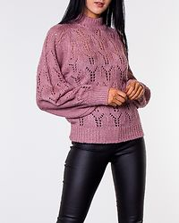 Jade Knitted Sweater Dusty Pink