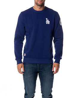 Crew Neck Los Angeles Dodgers Blue