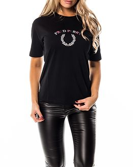 Embroidered T-Shirt Black