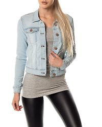 Debra Denim Jacket Light Blue Denim