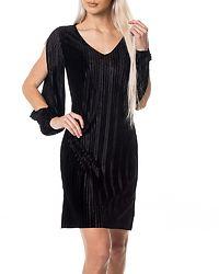 Ibolette Slit Dress Black