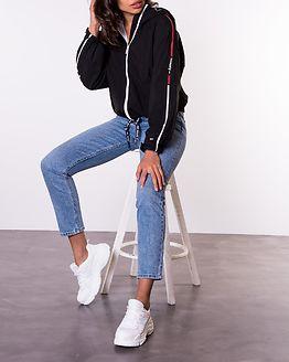 Branded Sleeves Windbreaker Black