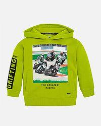 Kale Motorbike Hoodie Green