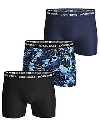 3-Pack Shorts La Leaf Blue Depths
