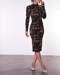 Christy Dress Black/Zig-Zag