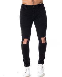 Jax Skinny Fit Jeans Charcoal
