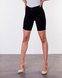 Rain Mid Long Shorts Black