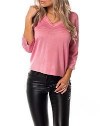 Emily V-Neck Knit Sea Pink