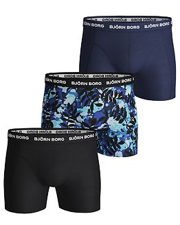 3-Pack Shorts La Leaf Blue Depths