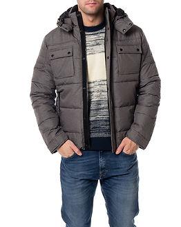 Cam Puffer Jacket Grey Melange