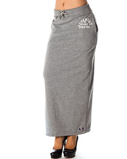 Tri League Maxi Skirt Skyscraper Grey Marl