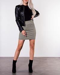 Sheena Short Jacket Black