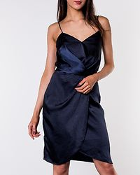Sateny Dress Navy Blazer
