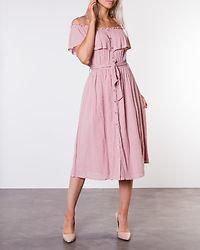 Jaqline Offshoulder Dress Light Pink