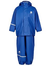 Basic Rainwear Suit -Solid Ocean Blue
