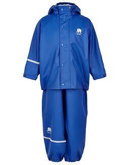 Basic Rainwear Suit -Solid Ocean Blue