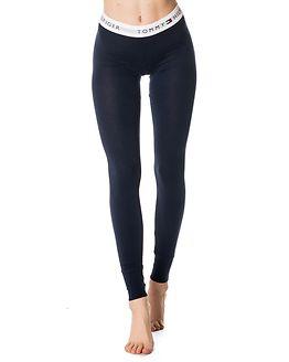 Shirt & Legging Set White/Navy Blazer