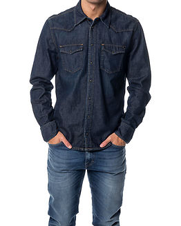 Carson Dark Blue Denim