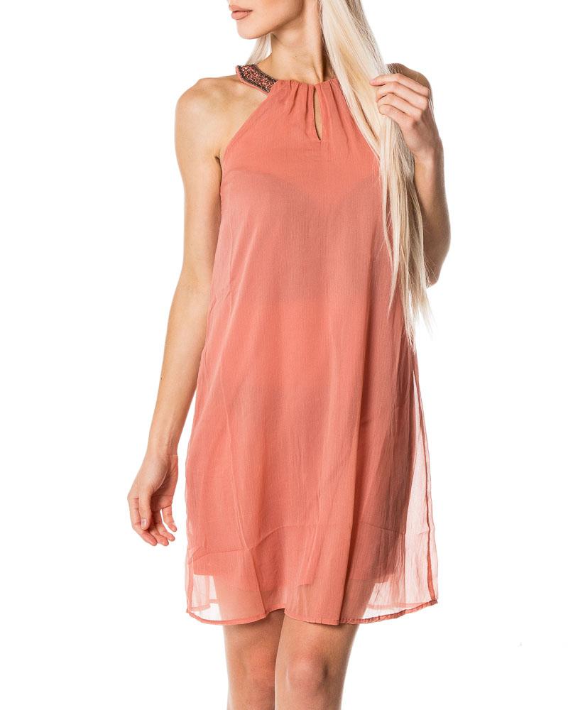 Vero Moda Beadi S L Dress Old Rose Dresses Houseofbrandon Com