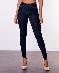 Amy Push Up Jeans Dark Denim