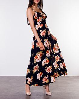 Katrina Strappy Midi Dress Navy/Floral