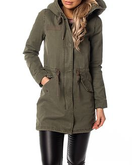 Favourite Canvas Parka Coat Kalamata
