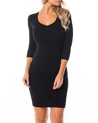Melia Knitted Dress Black