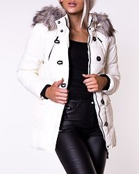 New Ottowa Nylon Coat Cloud Dancer