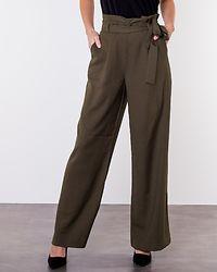 Kim Wide Long Pant Ivy Green