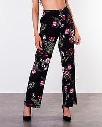 Simply Easy High Waist Wide Pant Black/Laila