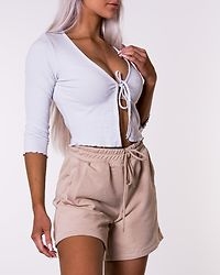Jersey Shorts Beige