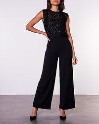 Doris Jumpsuit Black/Glitter