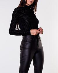 Kenya Long Sleeve Top Black