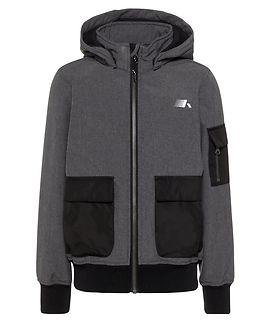 Malfa Softshell Jacket Melange Black