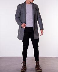 Fayette Jacket Grey Melange
