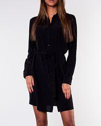 Thoma Shirt Dress Black