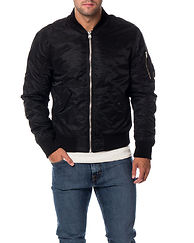 Porten Bomber Jacket Black