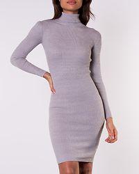 Julieta Rib Dress Crystal Grey