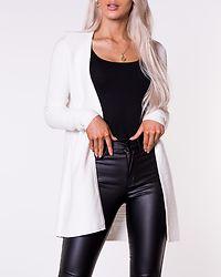 Lalaine Knit Long Cardigan White Alyssum