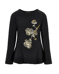 Longsleeve Shirt Gold Black