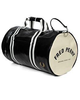 Classic Barrel Bag Black/Ecru