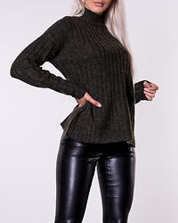 New Sanni Wool Knit Forest Night