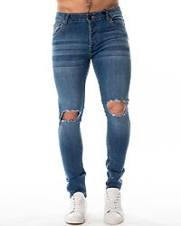Crofton Skinny Fit Jeans Light Blue Wash
