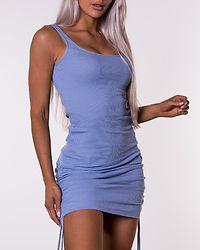 Stine Rouching Dress Purple Impression
